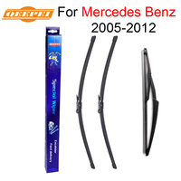 QEEPEI Front And Rear Wiper Blade No Arm For Mercedes Benz A Class W169 2005 2012