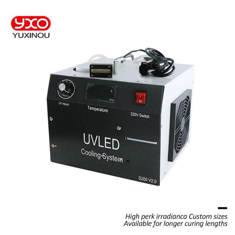 1 шт. 80 Вт светодио дный УФ светодио дный отверждения Системы для принтеров Epson DX5 принт УФ голову Экран печатная машина УФ планшетный принтер