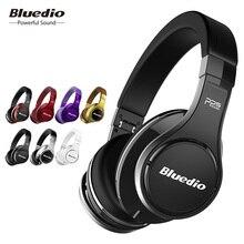 Bluedio U(UFO) 하이 엔드 블루투스 헤드폰 특허 8 드라이버/3D 사운드/알루미늄 합금/HiFi 오버 이어 무선 헤드폰