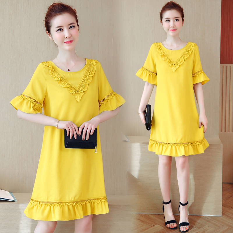 Maternity Clothes Brief Patchwork Pregnancy Dress Loose Maternity Clothing Of Pregnant Women Chiffon Premama