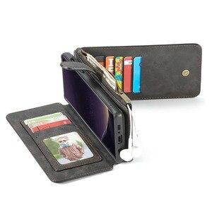 Image 4 - Кожаный чехол для Samsung Galaxy note 8 9 10 20 s8 s9 s10 5g S20 plus ultrass10e s7 edge, кошелек, чехол Etui, Модный чехол для телефона