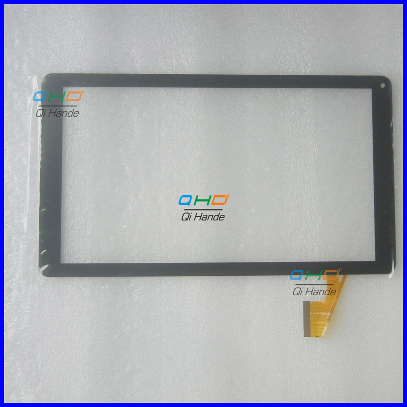 Black New 1PCS 10.1'' Tablet PC Touch Screen handwriting screen For ezee'Tab 10Q16-S Tablet Panel Digitizer Sensor Replacement new 10 1 tablet pc for 7214h70262 b0 authentic touch screen handwriting screen multi point capacitive screen external screen