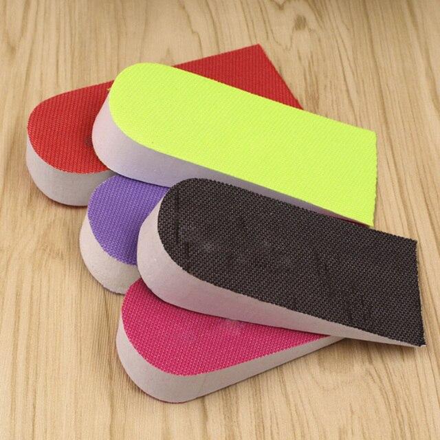 1 paio Eva Unisex 2.5 cm di Aumento di Altezza Solette Solette di scarpe Mezza Sottopiede Intensificare Inserto Tacco Scarpe Sportive Pad Cuscino casuale