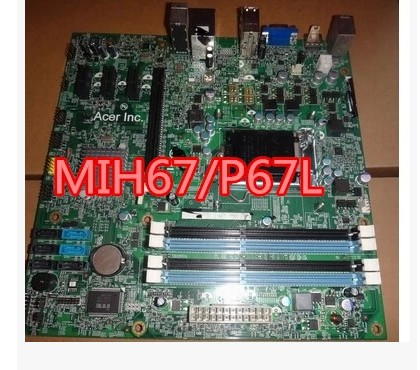 ФОТО Original 1155 motherboard ACER G3600 motherboard MIH67 / P67L