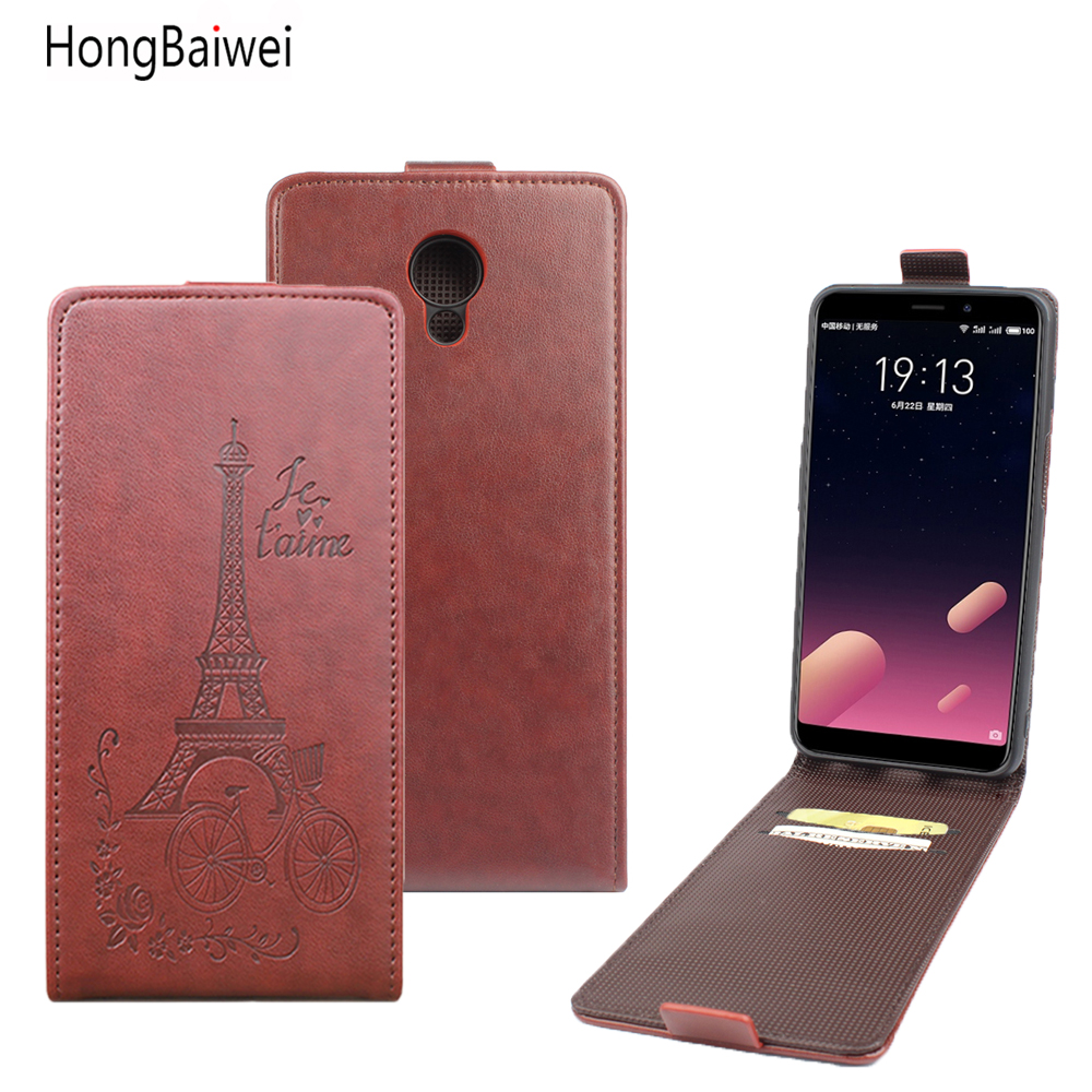 Flip Phone Bag Cases For MEIZU M6S PU Leather Stand Wallet Mobile Acces