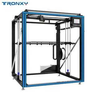 Image 3 - Mais novo maior impressora 3d tronxy X5SA 500 cama de calor grande impressão tamanho 500*500mm kits diy com tela de toque sensor de nivelamento automático
