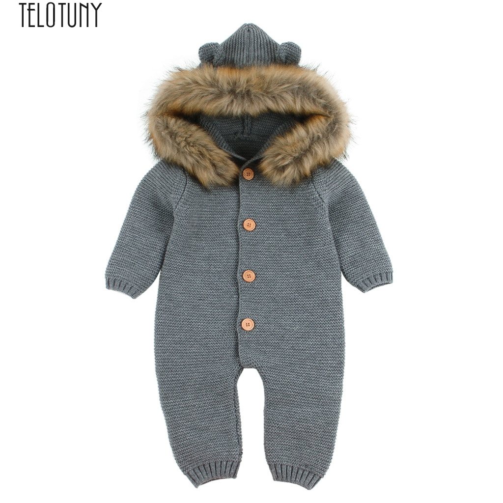 TELOTUNY Outfit Newborn Infant Baby Boy Girl Knitted ...