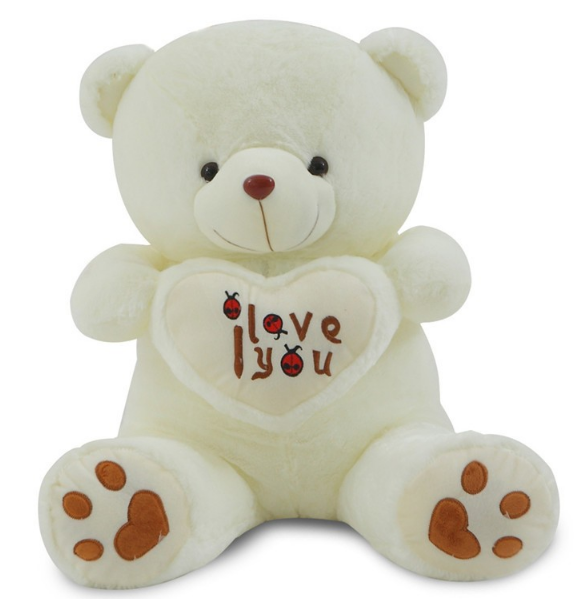50/70 см I Love You плюшевый мишка большая плюшевая игрушка с сердечком, мягкие в подарок на День святого Валентина для девочек на день рождения