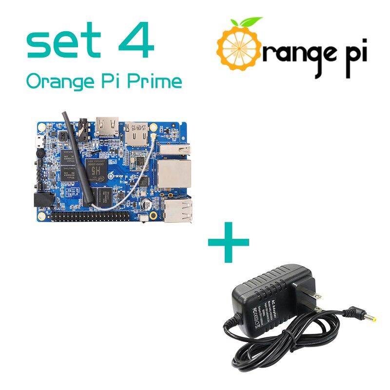 Arancione Pi Prime SET4: OPI Prime + DC Power Supply-in Scheda demo da Computer e ufficio su  Gruppo 1