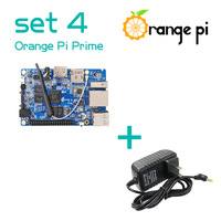Orange Pi Prime SET4: OPI Prime + DC Power Supply