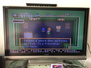 Image 3 - 16Bit משחקים ** BSZELDA ANCIENT אבן TABLET (צרפתית שפה PAL גרסה!! תיבה + מחסנית בלבד!!)