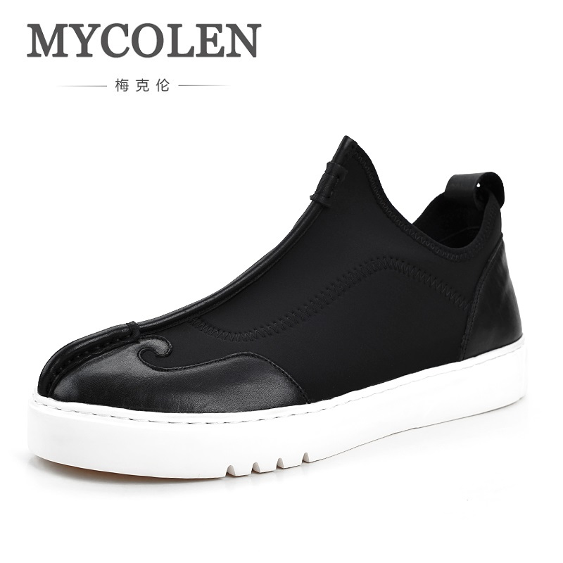 MYCOLEN Spring Fashion Breathable Men Shoes Lightweight Comfortable Male Casual Outdoor Man Shoes Zapatillas Casual Hombre 2017 fashion red black white men new fashion casual flat sneaker shoes leather breathable men lightweight comfortable ee 20
