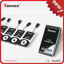 DHL Fast Shipping !!! YARMEE Small Tour Guide System For  4 Transmitter and 65 Receivers With A charger Case