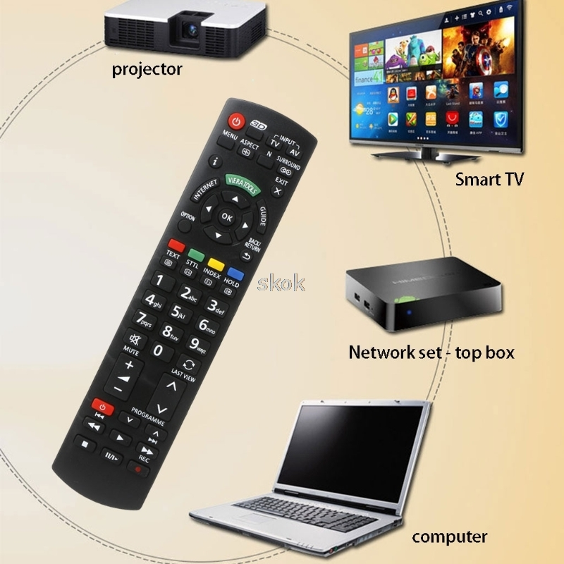 Remote Control air mouse Replacement fits For Panasonic TV A