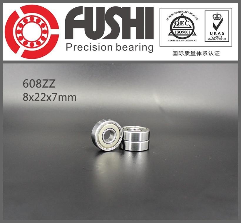 608ZZ Bearing 8x22x7 mm ( 10 PCS ) ABEC-5 Miniature 608 ZZ Ball Bearings 608Z 608 2Z Bearing 608zz bearing abec 5 10pcs 8x22x7 mm miniature ball bearings 608 2z emq z3v3 608z bearing