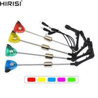 4 x carpas de pesca swinger LED iluminado swinger pesca bite indicador swinger