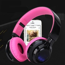 AB-005 Bluetooth Headphones Wireless Stereo Headsets earbuds with Mic Support TF Card FM Radio for iPhone Samsung