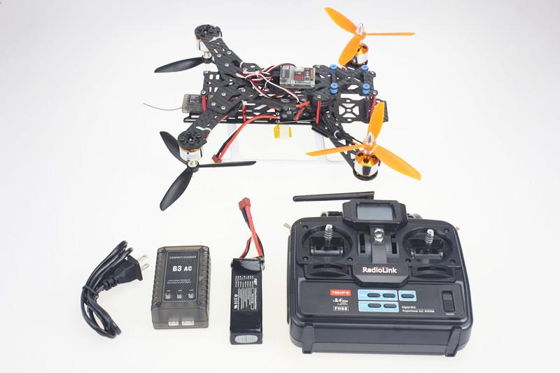 F11859 B 300H 300 Pure Carbon Fiber Mini H FPV Quadcopter RTF Full Kit with Radiolink