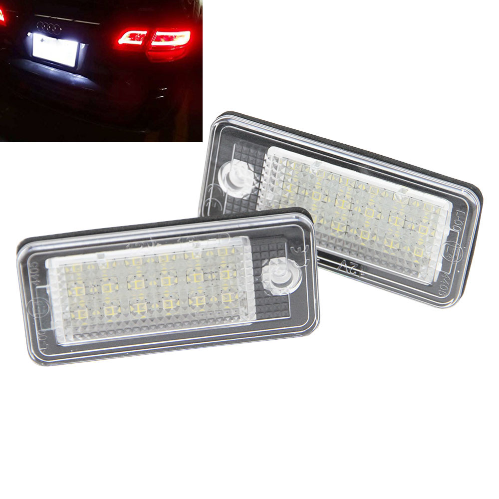 Audi A4 License Plate Frame: Aliexpress.com : Buy 18SMD Super Bright LED License Plate