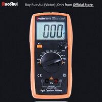6013 Victor RuoShui Digital Capacitance Meter Manual Range 2000 counts Capacitor Tester 20000uF LCR Meter