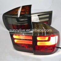 X5 E70 светодиодный задний фонарь для BMW E70 дыма 2008 2013