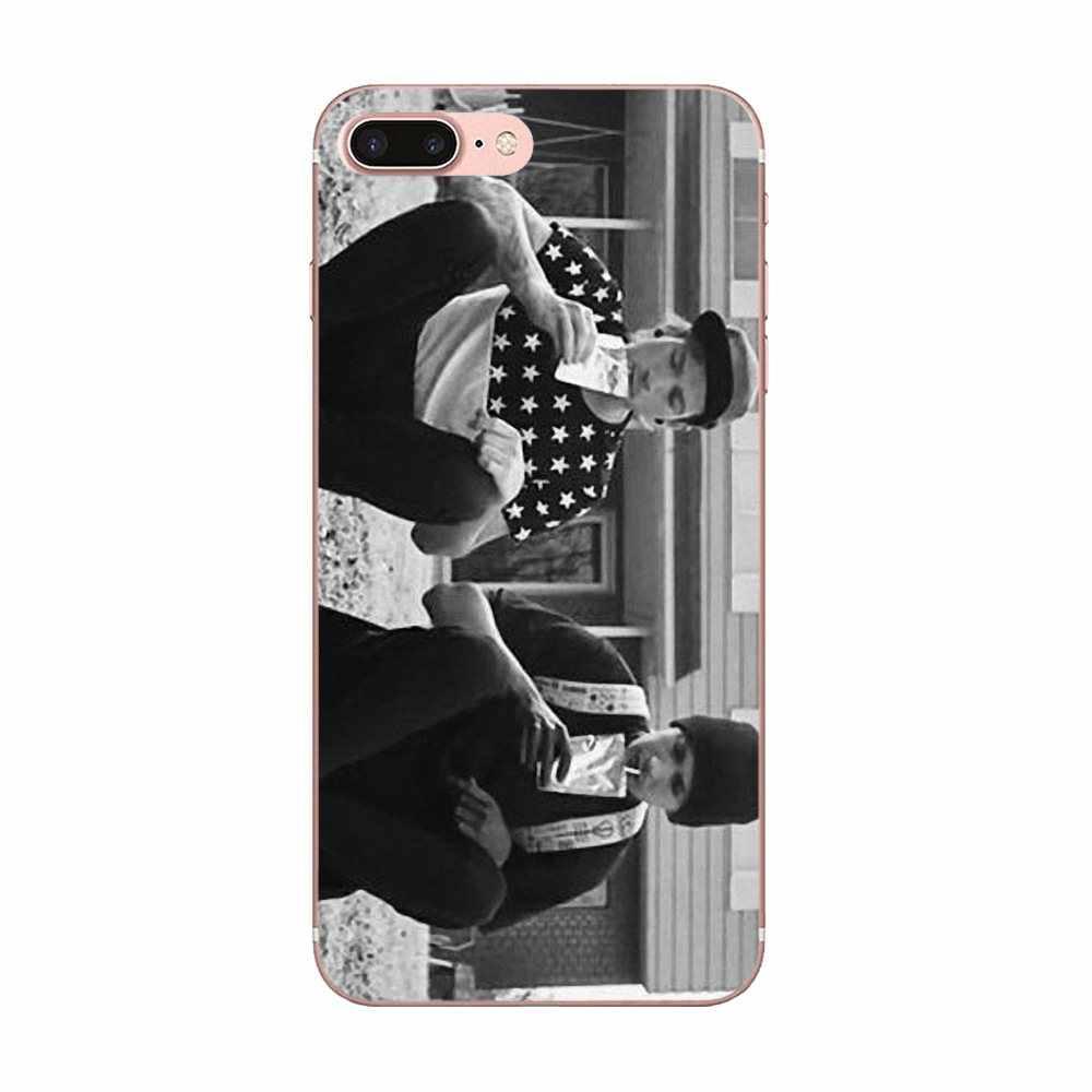Especial de Luxo Vertical Phone Case Banda de Música de Pilotos Para Xiaomi Redmi Nota de Vinte e Um 21 2 3 4 3 S 4A 4X5 5A 6 6A Pro Plus