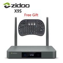 เดิมZIDOO X9sทีวีกล่องAndroid 6.0 + OpenWRT (NAS) Realtek RTD1295 2กรัม/16กรัมชุดทีวีบนกล่อง802.11acเครื่องเล่นสื่อ