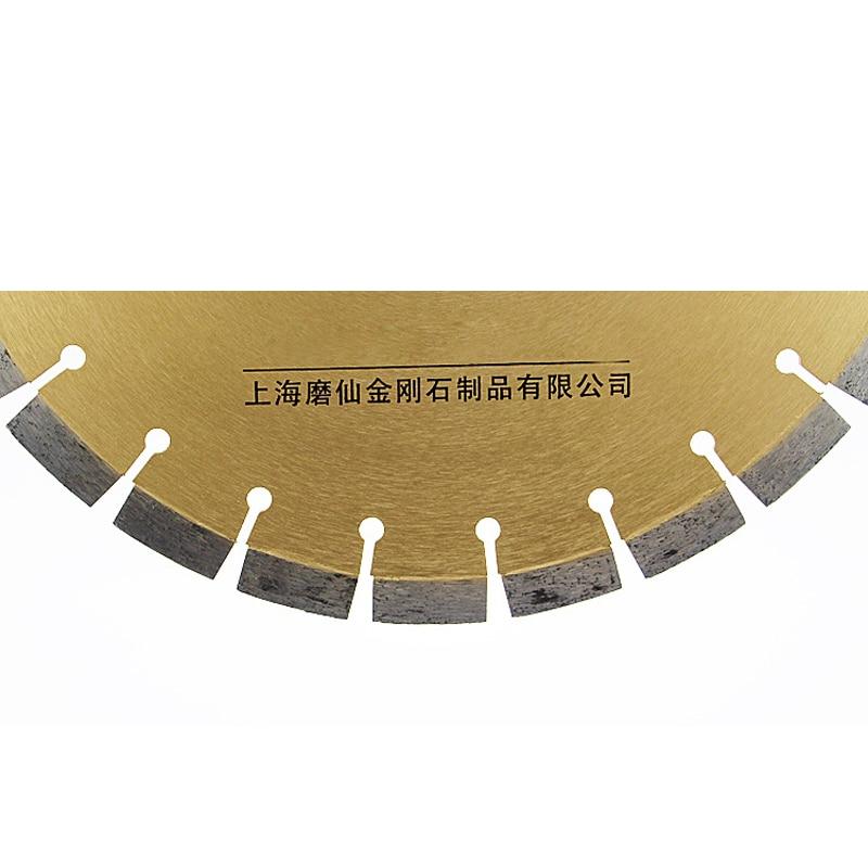 350mm * 50 * 3 Súper afilado Diente elevado Corte de hormigón Hojas - Hojas de sierra - foto 2