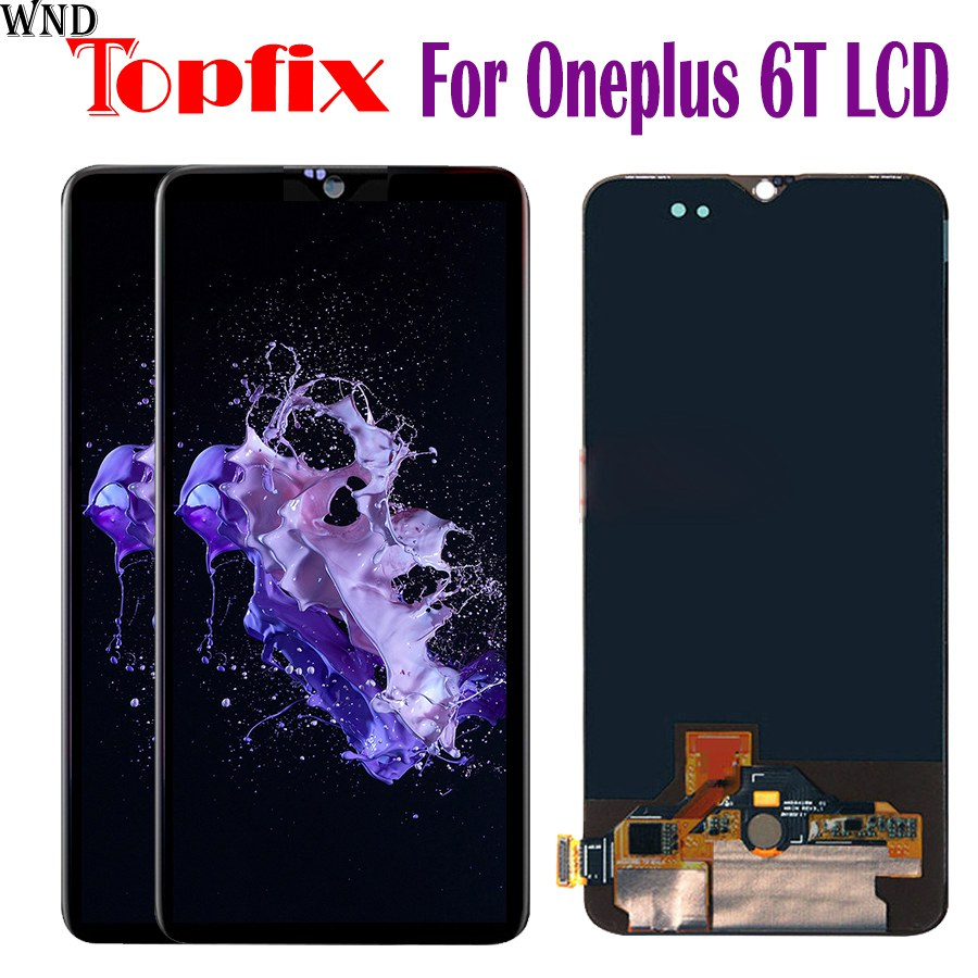 In Magazzino 6.41 LCD Originale Per Oneplus 6 T Display LCD Touch Screen Digitizer Assembly di Ricambio Per Oneplus 6 T Display TouchIn Magazzino 6.41 LCD Originale Per Oneplus 6 T Display LCD Touch Screen Digitizer Assembly di Ricambio Per Oneplus 6 T Display Touch