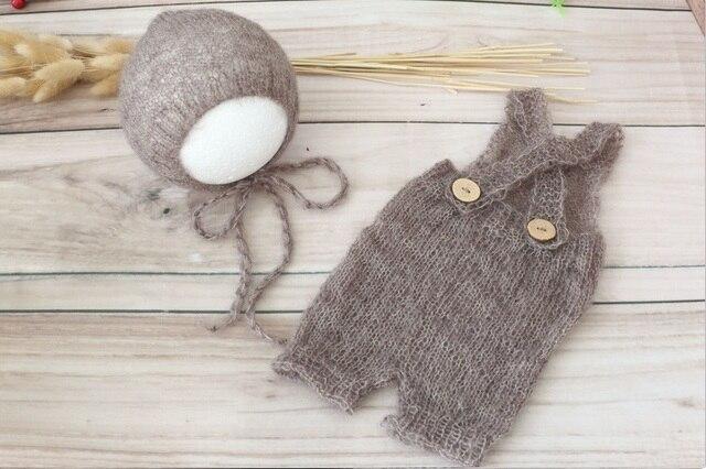 Neugeborenen hut und hose Häkeln mohair motorhaube Baby mit kapuze ...