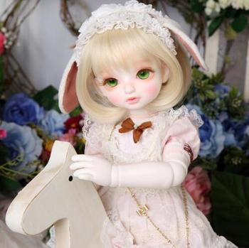 New BJD doll 1/4 Momo girl joint doll doll give eyes