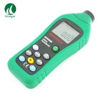 디지털 타코미터 ms6208b 비접촉식 속도계 100-9999.9 해상도 0.1 rpm lcd 백라이트 디스플레이