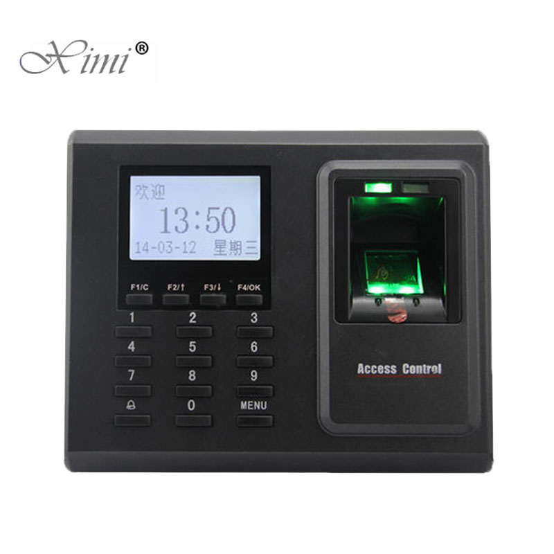 ZK F2 TCP/IP USB Biometric Fingerprint Access Control System Door Access Control With Time Attendance Fingerprint Reader