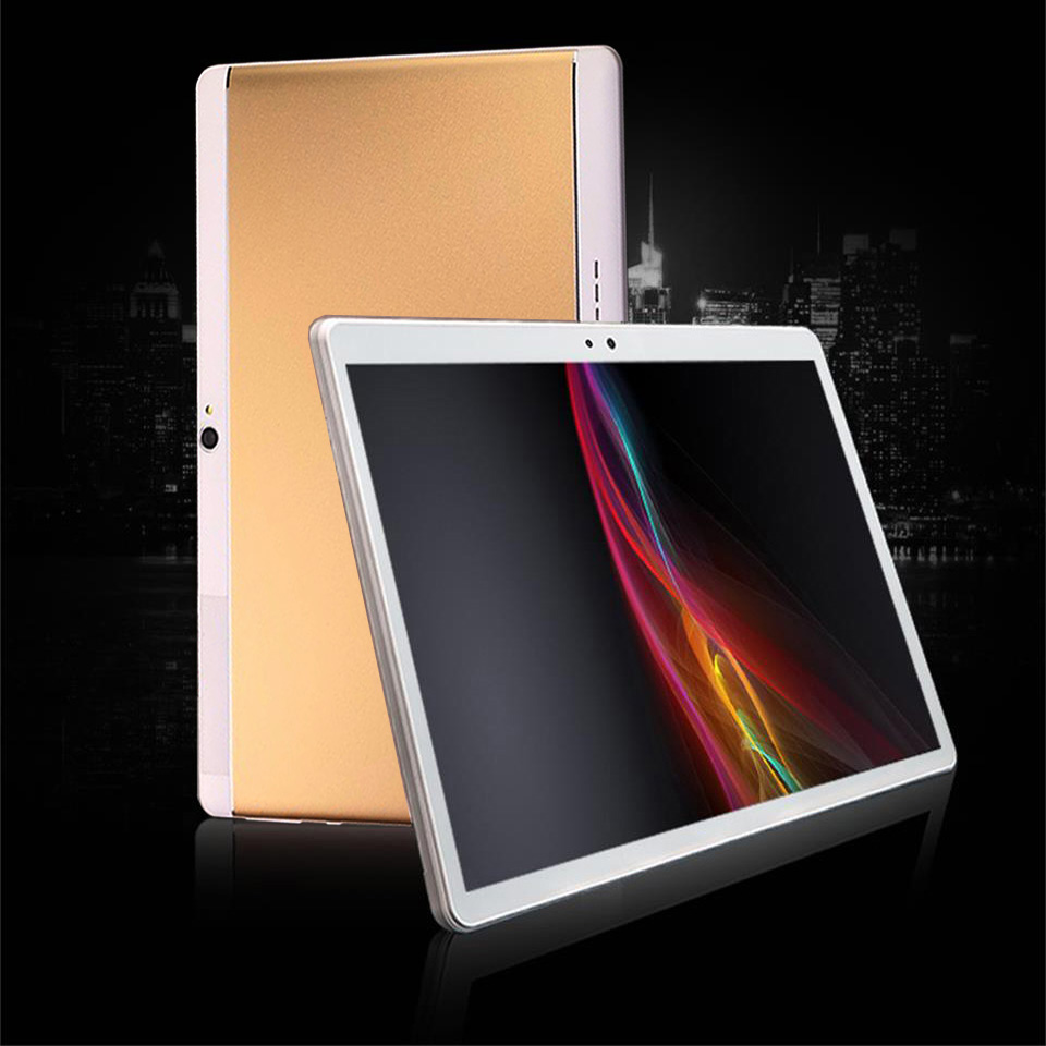 4G Tablet PC 10.1 Inch 3G\4G LTE Octa Core 64GB ROM Phone Call Tablets Android Tablet With Keyboard 1920*1200 WiFi GPS Bluetooth
