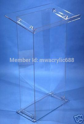 Free Shipping Acrylic Podium Pulpit Lectern customized acrylic lectern crystal podium pulpit