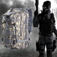 Hot Sell 3P Military Tactical Backpack Assault Travel Bags For Men Oxford Sport Bag 30L For