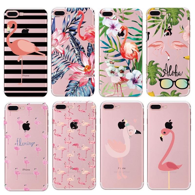 phone case iphone 7 flamingo