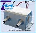 1064nm 200 W de Alta Potência Diodo Bombeado Nd: YAG Cavidade Do Laser tamanho 130*64*72 MM