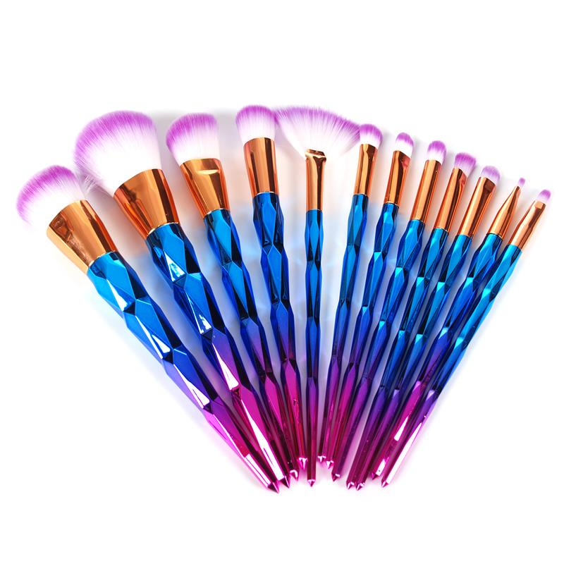 12Pcs Pro Makeup Brushes Set Professional Beauty Make Up Tools Eyeshadow Lip Powder Contour Face Concealer Cosmetic Brush Kits new 10 pcs professional makeup brushes set make up brushes cosmetic eyeshadow face powder foundation lip brush kit with makeup
