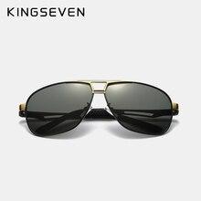 Polarized Square Lens Driving Sunglasses Aluminum Classic Frame