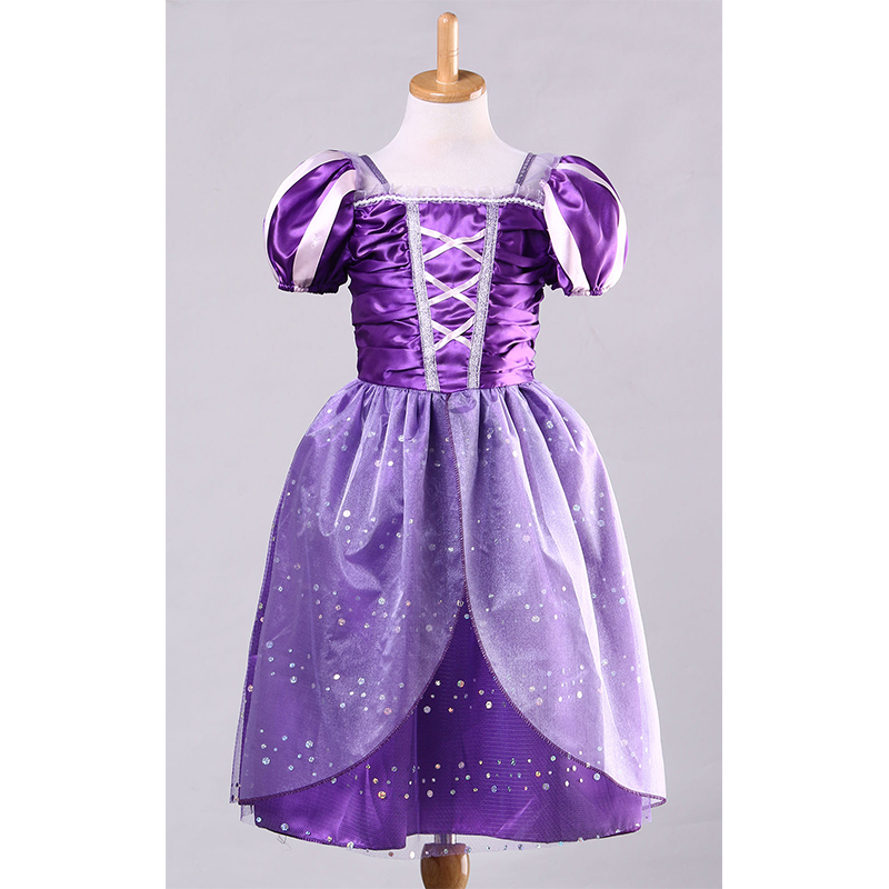 99cdd4e4d Girls Rapunzel Fancy Dress Costume Kids Princess Outfit UK Ages 3/4/5/6/7/8/9/10-in  Dresses from Mother & Kids on Aliexpress.com   Alibaba Group