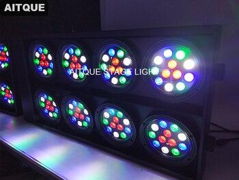 (กรณีเที่ยวบิน)ไฟเวทีมืออาชีพ8 eye ledผู้ชมblinderเวทีไฟledจุดไฟกรณีเที่ยวบิน