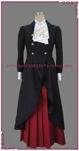 Adult Women Cotton Satin Full Shipping Umineko Naku Koro Rosa Ushiromiya Cosplay Costume