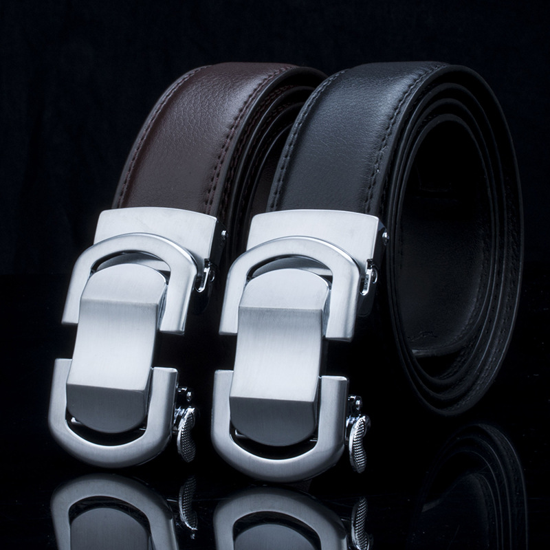 Famous Brand Belt Men 100% Good Quality Cowskin Genuine Luxury - Accesorios para la ropa