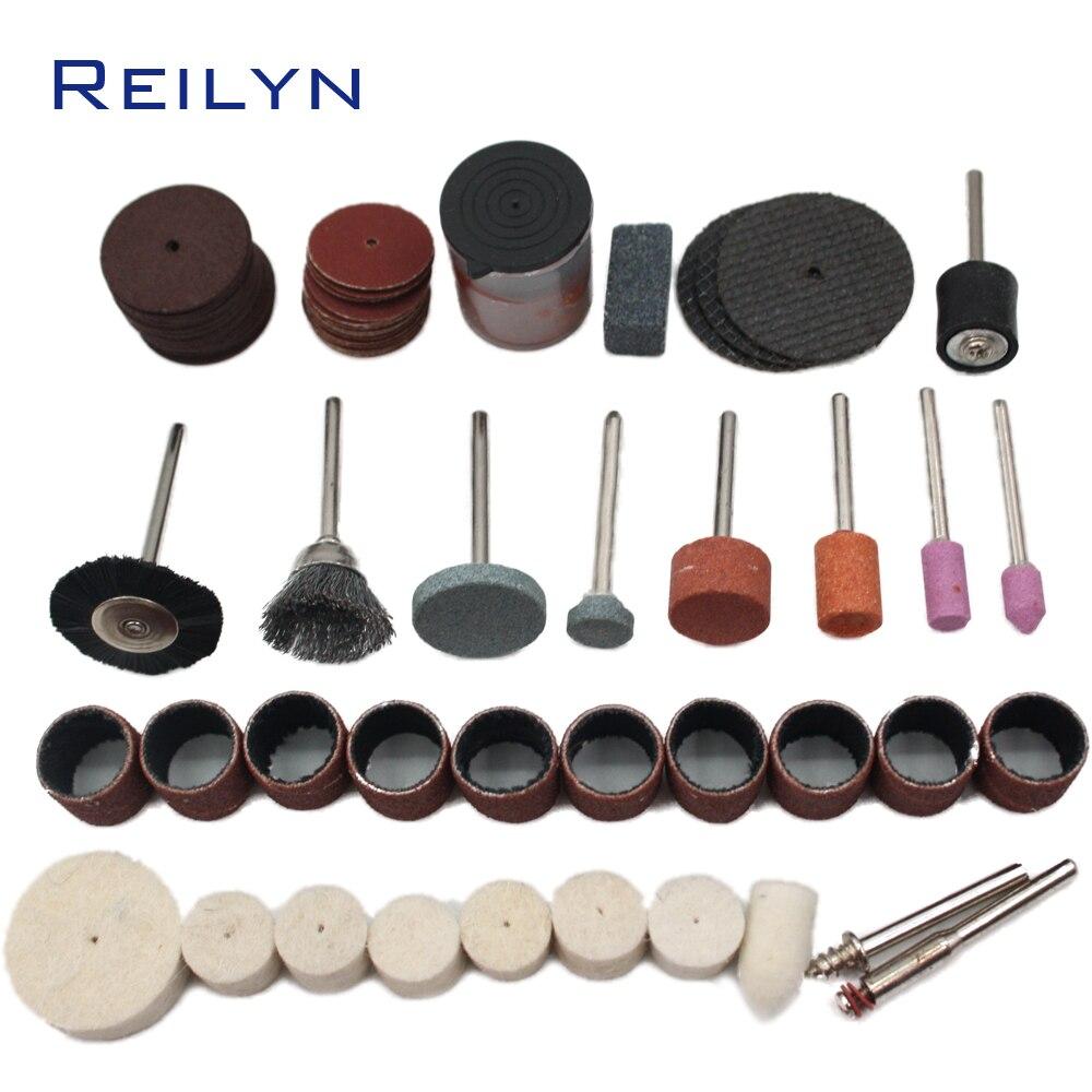 Caixa kit de Ferramentas terno 79 pcs pedaços de moagem de Moagem de corte/abrasing/polimento bits kit para moedor de abrasivos ou ferramentas rotativas