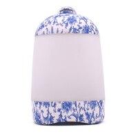 Orcelana Azul Blanca Adornos Muebles Para El Hogar Feng Shui Bola Redonda Fuente De Agua Suerte