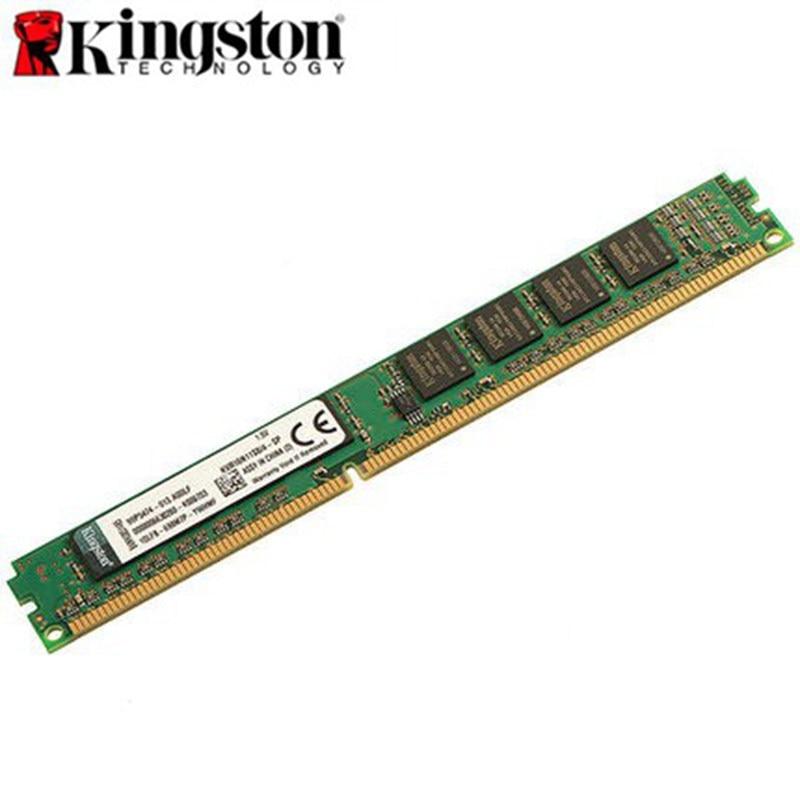 Original Kingston Memoria ValueRAM DDR3 1600MHz Memory For Desktop 8GB 4GB 2GB Intel DIMM Intel DDR3 Desktop Memory KVR16N11
