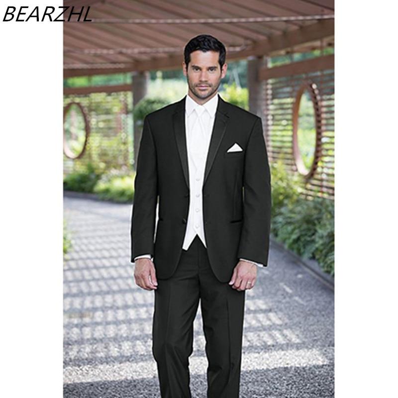 мъже смокинг костюм пром дизайн - Мъжко облекло