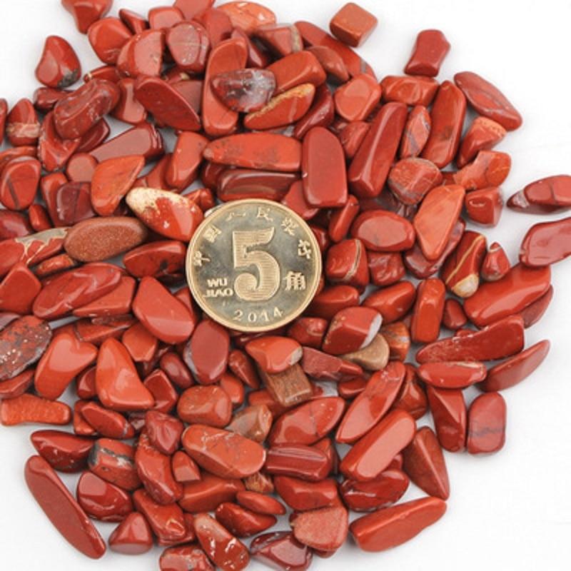 50g Natural Degaussing Crystal Gravel Red Jasper Stone Natural