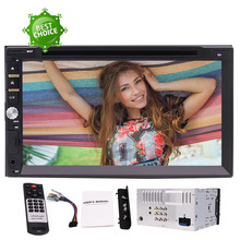 "EinCar 2 Din Car DVD Player Radio USB SD Bluetooth AUX 7"" In Dash Stereo 3 Personalized UI+7 Colorful Button+Wireless Remote"